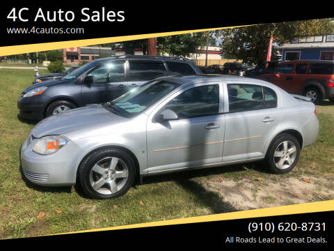 2008 Chevrolet Cobalt for sale at 4C Auto Sales in Wilmington NC