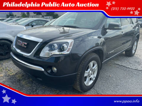 2007 GMC Acadia for sale at Philadelphia Public Auto Auction in Philadelphia PA