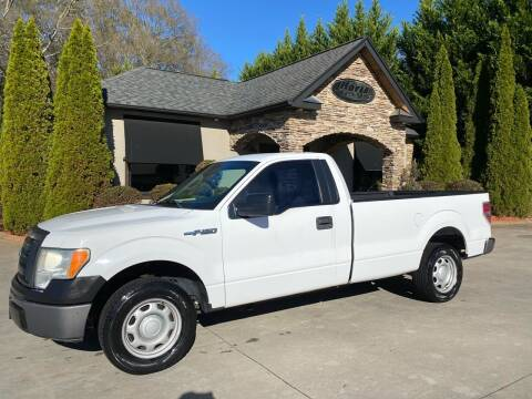 2010 Ford F-150 for sale at Hoyle Auto Sales in Taylorsville NC