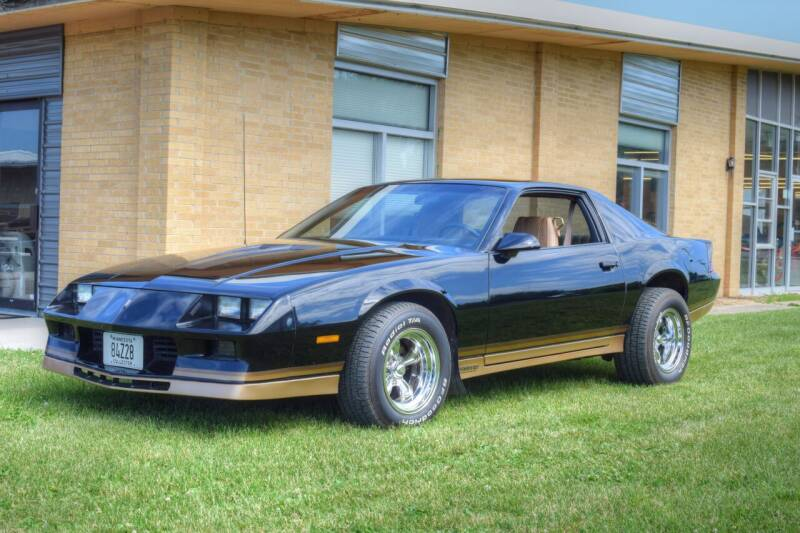 1984 Chevrolet Camaro for sale at Hooked On Classics in Watertown MN