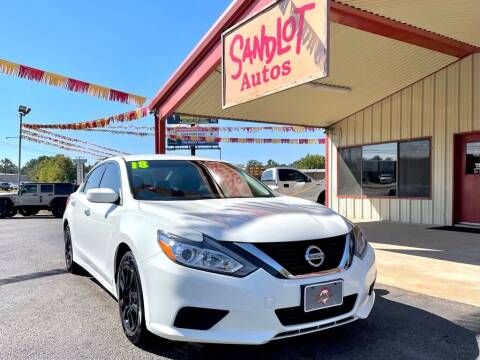 2018 Nissan Altima for sale at Sandlot Autos in Tyler TX