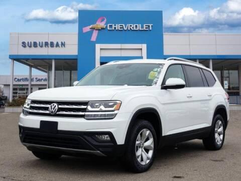 2019 Volkswagen Atlas for sale at Suburban Chevrolet of Ann Arbor in Ann Arbor MI