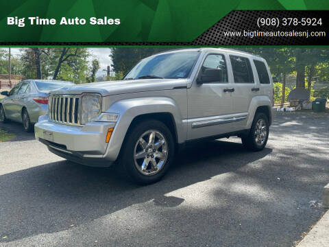 2008 Jeep Liberty for sale at Big Time Auto Sales in Vauxhall NJ