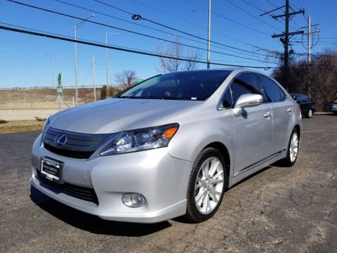 2010 Lexus HS 250h for sale at Luxury Imports Auto Sales and Service in Rolling Meadows IL