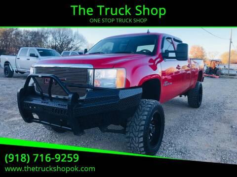 2008 GMC Sierra 2500HD for sale at The Truck Shop in Okemah OK