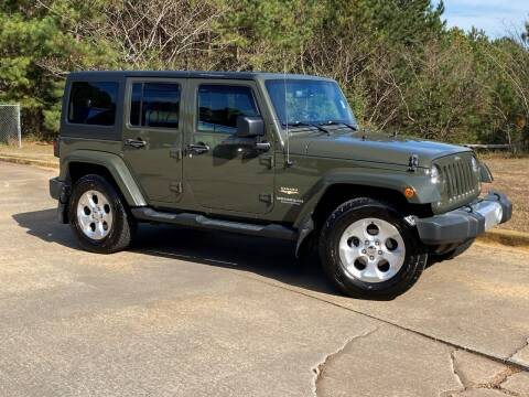 2015 Jeep Wrangler Unlimited for sale at Selective Cars & Trucks in Woodstock GA