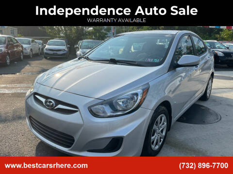 2013 Hyundai Accent for sale at Independence Auto Sale in Bordentown NJ