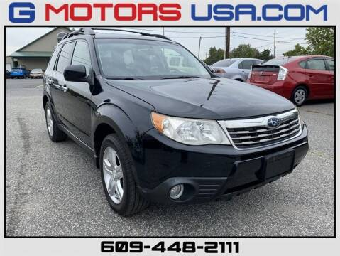2009 Subaru Forester for sale at G Motors in Monroe NJ