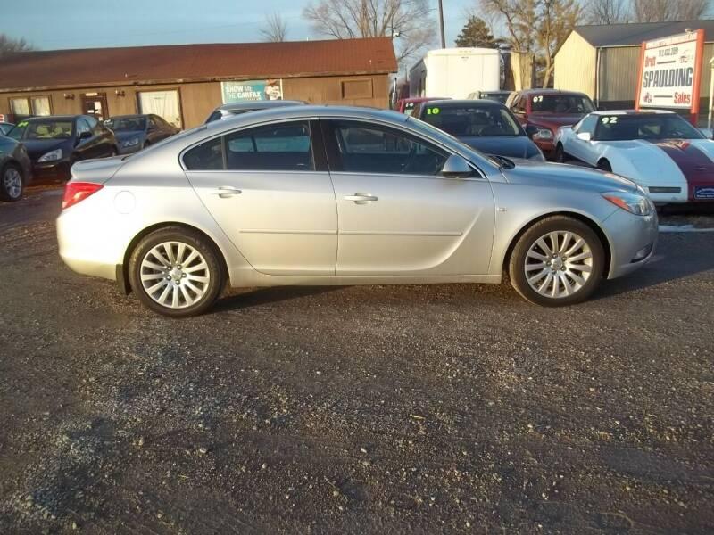 2011 Buick Regal for sale at BRETT SPAULDING SALES in Onawa IA