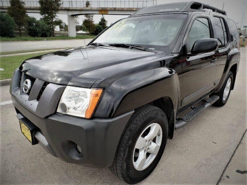 2005 Nissan Xterra for sale at SARCO ENTERPRISE inc in Houston TX