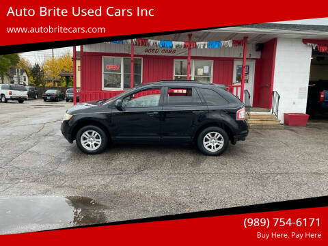 2008 Ford Edge for sale at Auto Brite Used Cars Inc in Saginaw MI