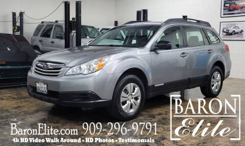 2011 Subaru Outback for sale at Baron Elite in Upland CA