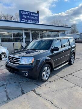 2012 Honda Pilot for sale at Right Away Auto Sales in Colorado Springs CO