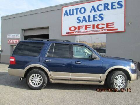 2011 Ford Expedition for sale at Auto Acres in Billings MT