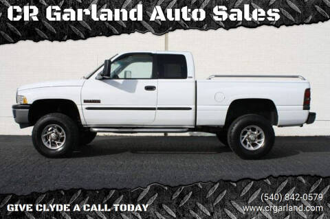 1998 Dodge Ram Pickup 2500 for sale at CR Garland Auto Sales in Fredericksburg VA
