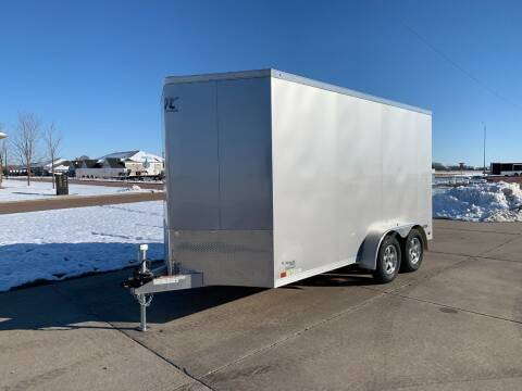 2021 ATC RAVEN 7x14x7 Silver #1353 for sale at Prairie Wind Trailers, LLC in Harrisburg SD