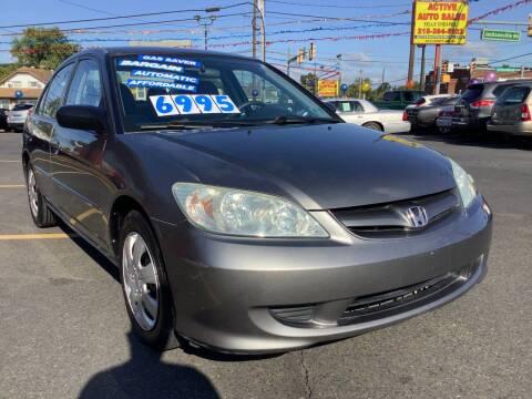 2005 Honda Civic for sale at Active Auto Sales in Hatboro PA
