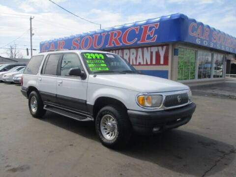 1999 Mercury Mountaineer for sale at CAR SOURCE OKC in Oklahoma City OK