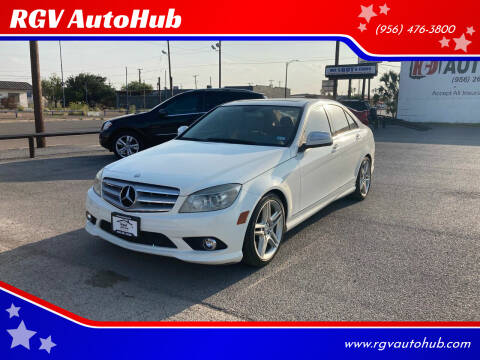 2009 Mercedes-Benz C-Class for sale at RGV AutoHub in Harlingen TX