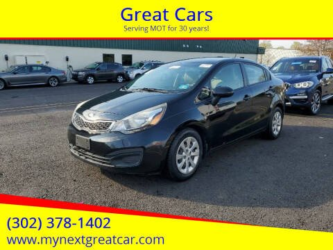 2013 Kia Rio for sale at Great Cars in Middletown DE