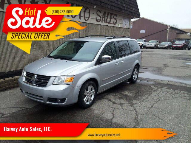 2008 Dodge Grand Caravan for sale at Harvey Auto Sales, LLC. in Flint MI
