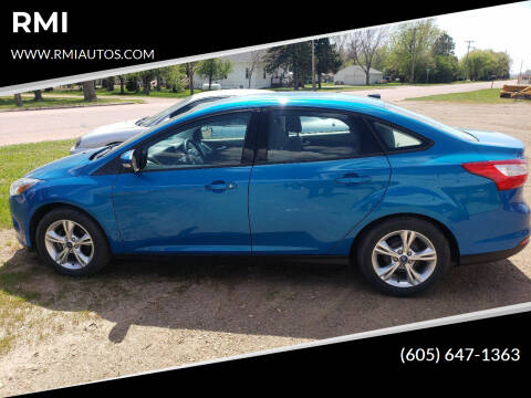 2013 Ford Focus for sale at RMI in Chancellor SD