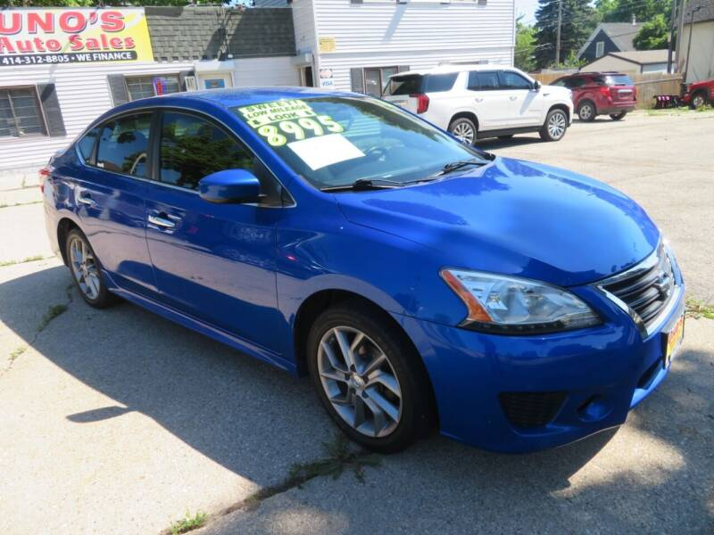 2013 Nissan Sentra for sale at Uno's Auto Sales in Milwaukee WI