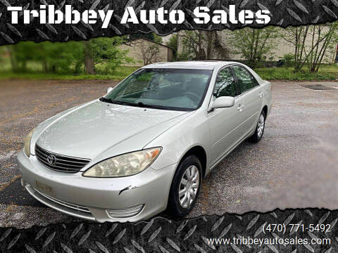 2006 Toyota Camry for sale at Tribbey Auto Sales in Stockbridge GA