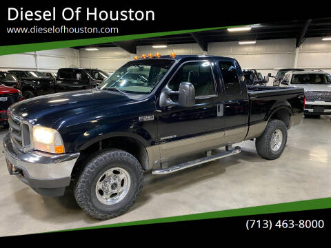 2003 Ford F-250 Super Duty for sale at Diesel Of Houston in Houston TX