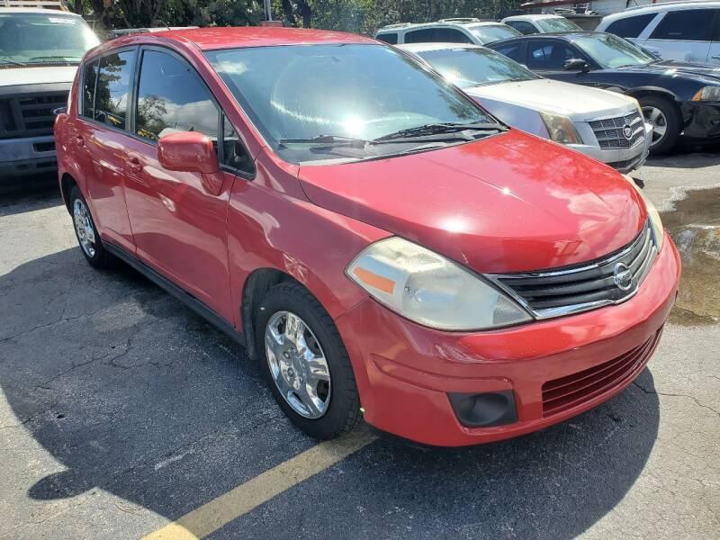 2010 Nissan Versa for sale at America Auto Wholesale Inc in Miami FL