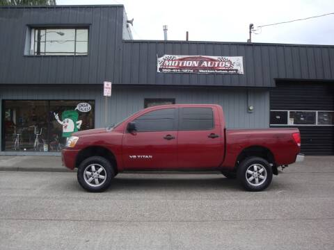 2006 Nissan Titan for sale at Motion Autos in Longview WA