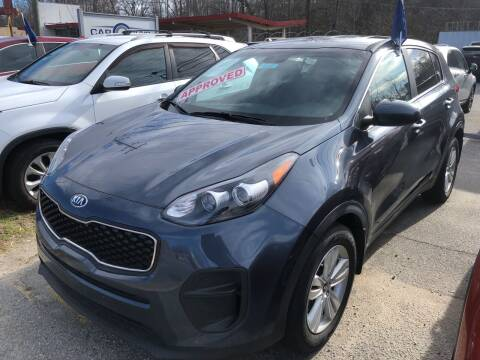 2017 Kia Sportage for sale at Car Guys in Lenoir NC