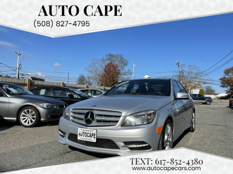 2011 Mercedes-Benz C-Class for sale at Auto Cape in Hyannis MA