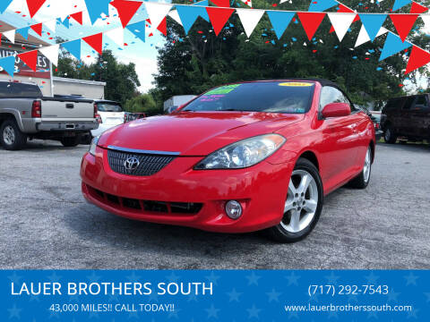 2005 Toyota Camry Solara for sale at LAUER BROTHERS SOUTH in York PA