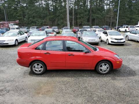 2003 Ford Focus for sale at WILSON MOTORS in Spanaway WA