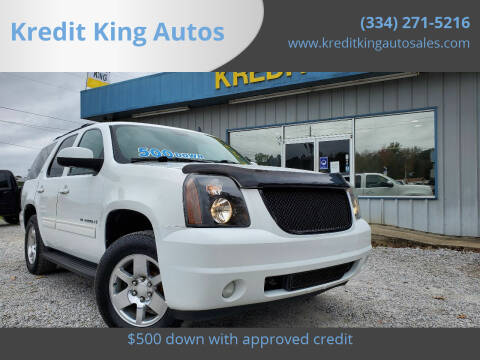 2009 GMC Yukon for sale at Kredit King Autos in Montgomery AL