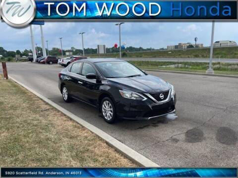 2019 Nissan Sentra for sale at Tom Wood Honda in Anderson IN