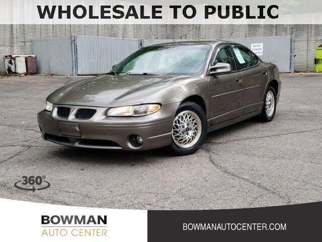 2000 Pontiac Grand Prix for sale at Bowman Auto Center in Clarkston MI