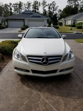 2012 Mercedes-Benz E-Class for sale at Royal Auto Mart in Tampa FL
