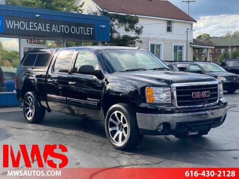 2008 GMC Sierra 1500 for sale at MWS Wholesale  Auto Outlet in Grand Rapids MI