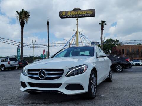 2015 Mercedes-Benz C-Class for sale at A MOTORS SALES AND FINANCE - 5630 San Pedro Ave in San Antonio TX