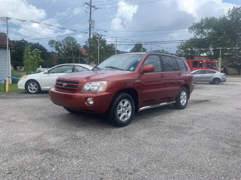 2001 Toyota Highlander for sale at G & L Auto Brokers, Inc. in Metairie LA