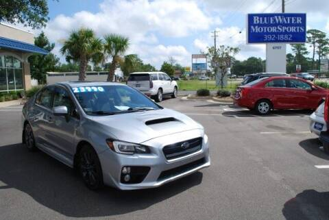 2015 Subaru WRX for sale at BlueWater MotorSports in Wilmington NC
