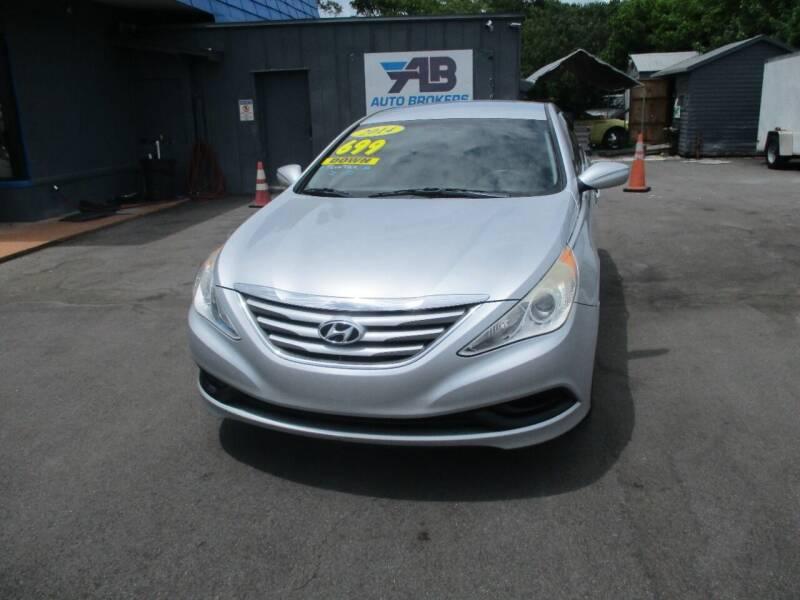 2014 Hyundai Sonata for sale at AUTO BROKERS OF ORLANDO in Orlando FL