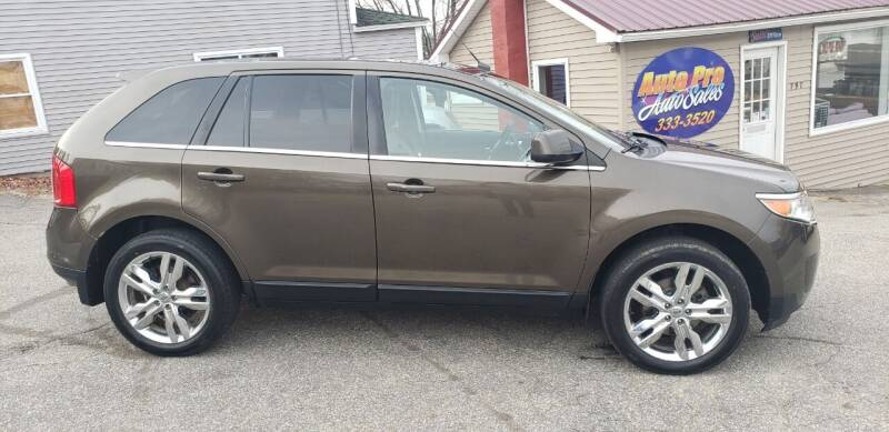 2011 Ford Edge for sale at Auto Pro Auto Sales-797 Sabattus St. in Lewiston ME