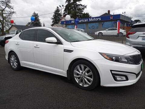 2015 Kia Optima for sale at All American Motors in Tacoma WA
