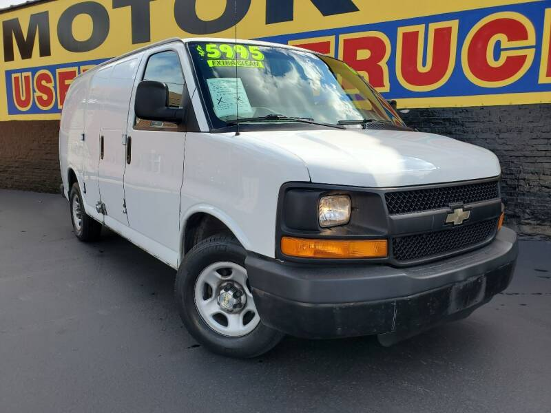 2006 Chevrolet Express Cargo for sale at B & R Motor Sales in Chicago IL
