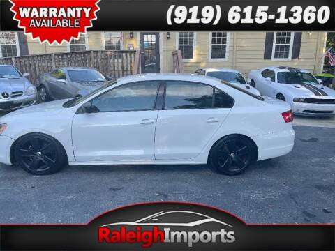 2013 Volkswagen Jetta for sale at Raleigh Imports in Raleigh NC