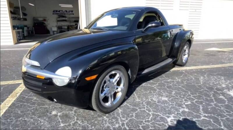 2005 Chevrolet SSR for sale at Franklyn Auto Sales in Cohoes NY
