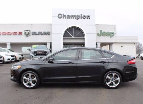 2013 Ford Fusion for sale at Champion Chevrolet in Athens AL